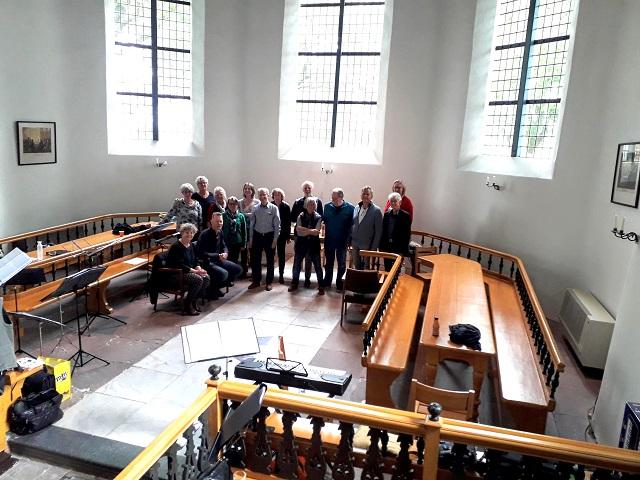 Coro Sine Nomine in de Martinuskerk, Middelbert